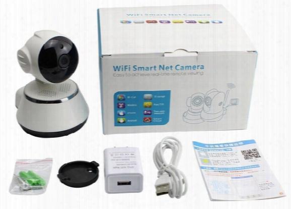 V380 30day Ptz Camera Motion Detection Alarm Baby Monitor Camera Hd720p Ip Wifi Camera Ir Cut P2p Cctv Night Vision Up 64gb Card