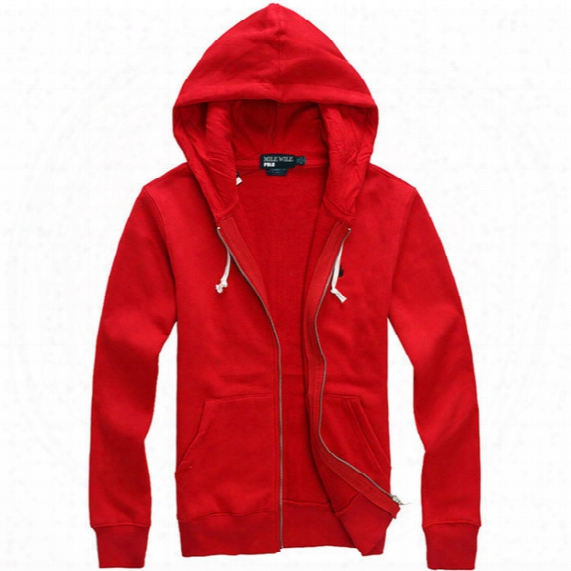 Wholesale-free Shipping 2015 New Polo Hoodies Brand Men Sweatshirt With A Hood Cardigan Outerwear Men Fashion Hoodie High Quality