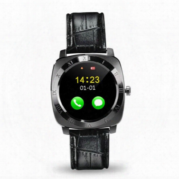 X3 Smartwatch Bluetooth Smart Watch Android With 0.3m Camera Mtk6261d Smartwatch Android Phone Micro Sim Tf Card With Retail Package